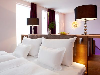 abito suites | Treca-Bett in der Suite