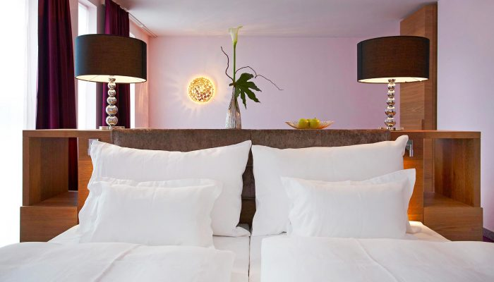 abito suites | Treca-Bett in der Suite