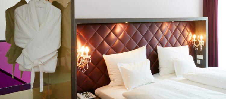 abito suites | Detail Schlafbereich
