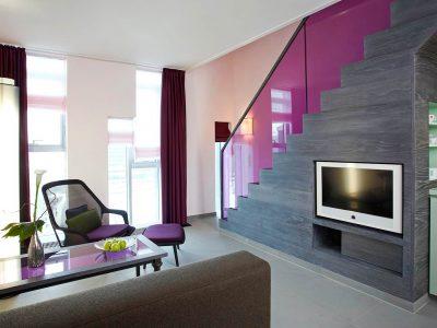 abito suites | Suite Wohnbereich mit Küche